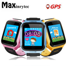 Maxinrytec Q528 Y21 GPS Smart Watch With Camera Flashlight Baby Watch SOS Call Location Device Tracker for Kids Safe PK Q90(China)
