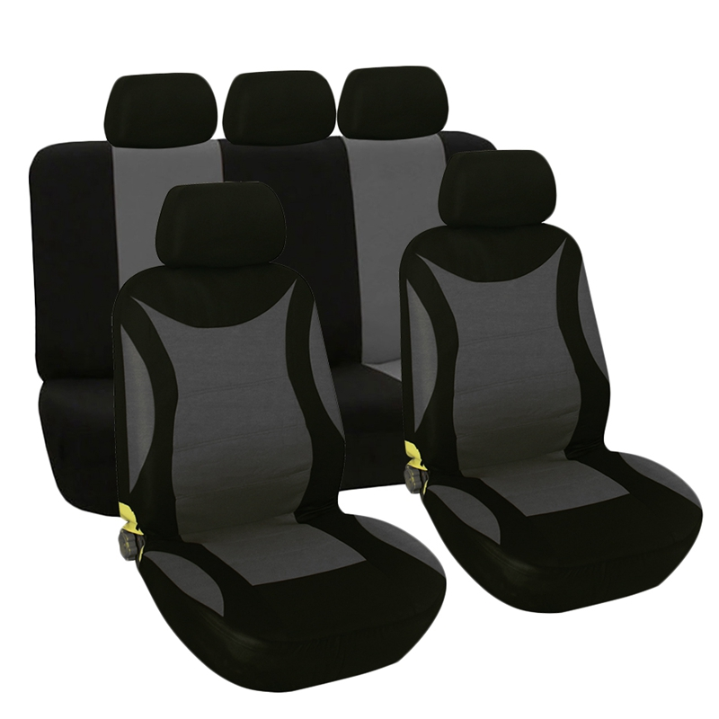 Universal 9Pcs/Set Washable Auto Car Seat Cover Protector Seat Cover for Truck Suv(China)