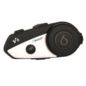 Image 4 - Englisch Version Vimoto V6 600mAh Motorrad Helm Bluetooth Intercom Headset Multi funktionale Stereo Kopfhörer Für Handys