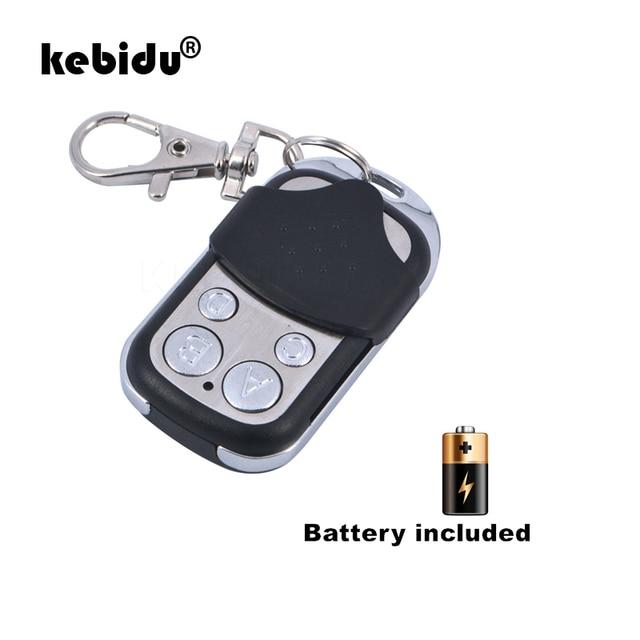 kebidu 433MHZ Copy Universal Remote Controller Metal Clone Remotes Auto Copy Duplicator For Gadgets Car Home Garage