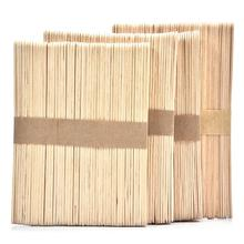 Wholesale 50pcs Wooden Popsicle Stick Kids Hand Crafts Art Ice Cream Lolly Cake DIY Making Funny Ice Cream Stick Dropshipping