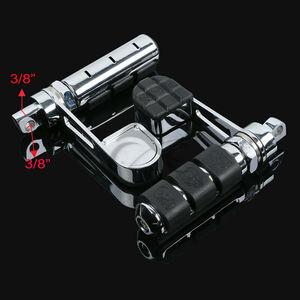 Image 4 - Nuevas clavijas de pie para motocicleta con reposapiés para Softail Sportster XL 883 1200 Iron DYNA FXDF FXDC FXDX