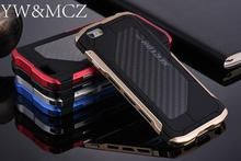 Ultra thin Metal Case For iPhone 6 6s Plus 7 8plus Sector PRO Men Cool Cover For iPhone X 10 Cell Phone Case Aluminum Carbon