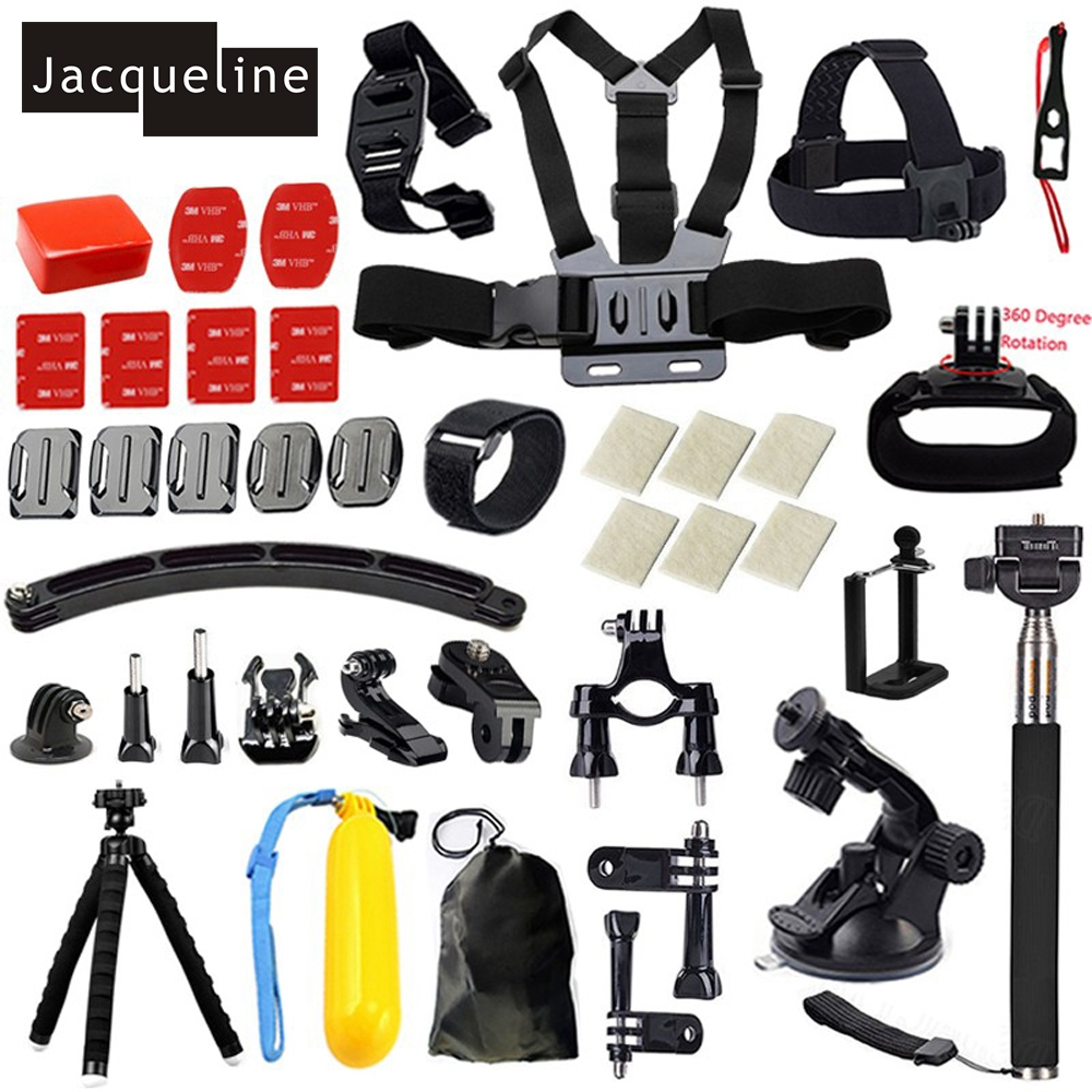 Jacqueline için Aksesuarlar Askı Dağı Gopro hero HD hero 5 4/3 + - Kamera ve Fotoğraf