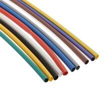 Горячая 55 шт. 5 размеры 11 цвета 2:1 ассортимент полиолефиновый н-типа термоусадочной трубки рукава накруткой кабель проводов