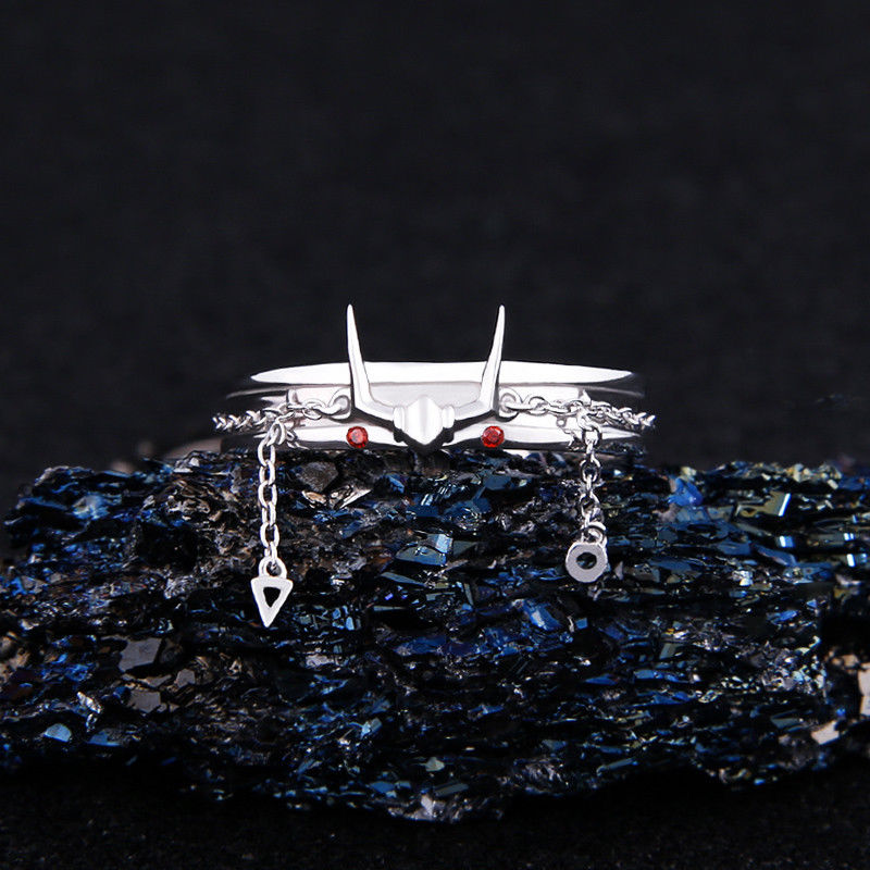 Anime Saint Seiya tissu mythe andromède bague 925 en argent Sterling Costume cadeau Usa 7 réglable anneau bijoux cadeau