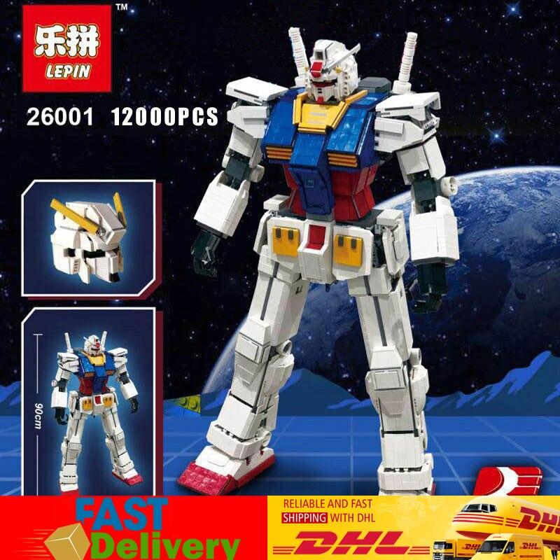 Lepin 26001 Serie di Film Il LegoINGlys MOC Gundam RX-78 Robot La MOC Super Robot Guerriero Modello Set Mattoni Blocchi Giocattoli gfits