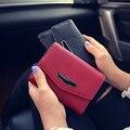 Pu Long Women Wallet Casual Zipper Clutches Bag Fashion Luxury Purse Female Carteira European and American Style Money Clip