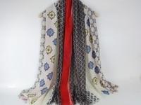 Geometric Floral Print Modal Cotton Scarf Women Shawl Pretty New Arrival Spring Winter Wraps Muslim Shawl