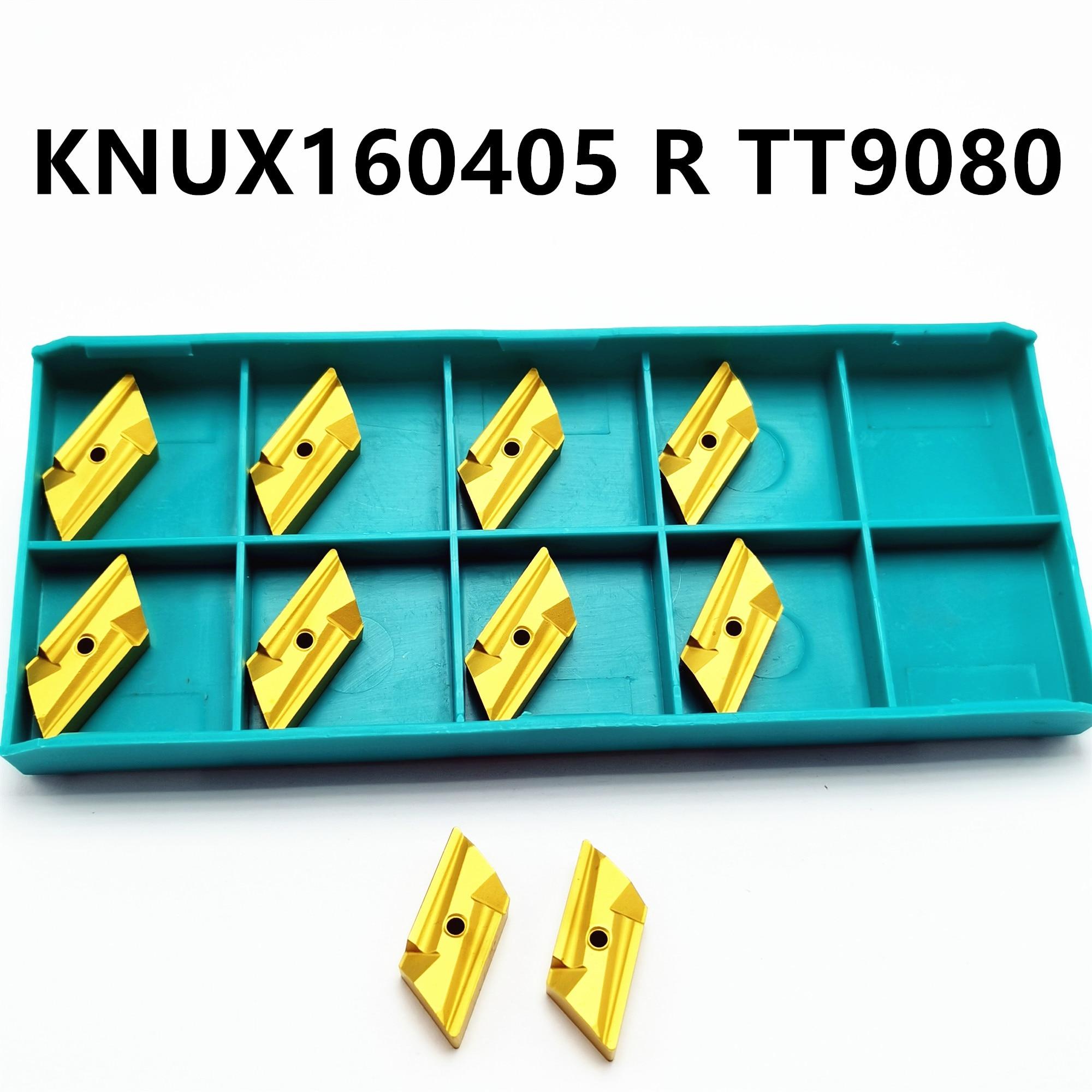 Tungsten Carbide KNUX160405R TT9080 Carbide Insert Turning Tool Turning Milling Cutter CNC Tool KNUX 160405 R KNUX
