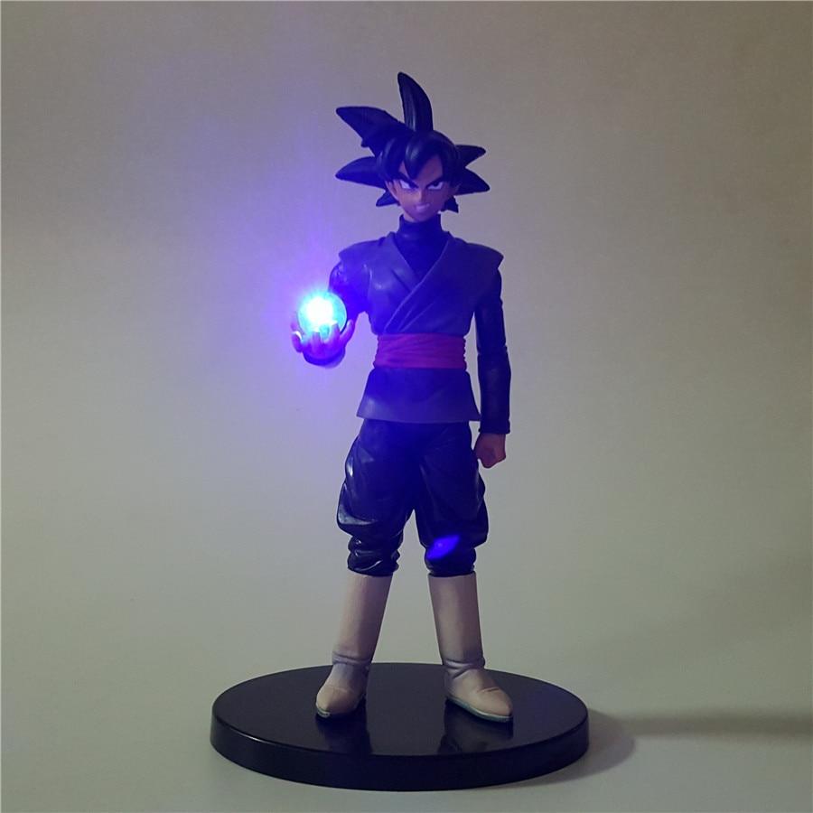 Dragon Ball Led Licht Schwarz Son Goku Zamasu Dragon Ball - Nachtlichter - Foto 2