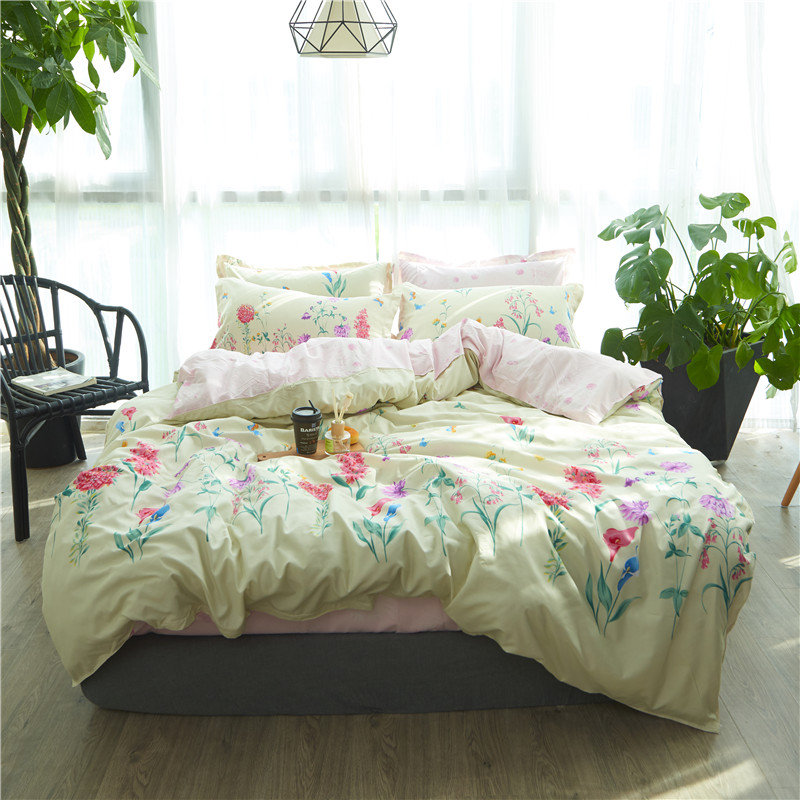 fashion luxury home textile bed linens bed clothes duvet cover bed sheet pillow case full/queen/king size bedding setfashion luxury home textile bed linens bed clothes duvet cover bed sheet pillow case full/queen/king size bedding set