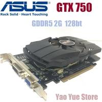 Asus GTX 750 FML 2GB GTX750 GTX 750 2G D5 DDR5 128 Bit PC Desktop Graphics