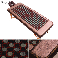 Electric Heating Temperature Control Jade Stone Mat Tourmaline Care Health Care Beauty Salon Free Shipping