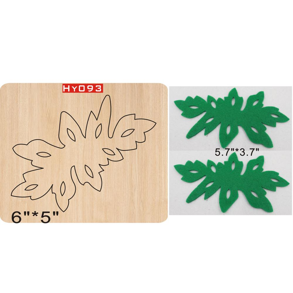 Leaf Cutting Dies 2019 New Die Cut &wooden Dies Suitable  For Common Die Cutting  Machines On The Market