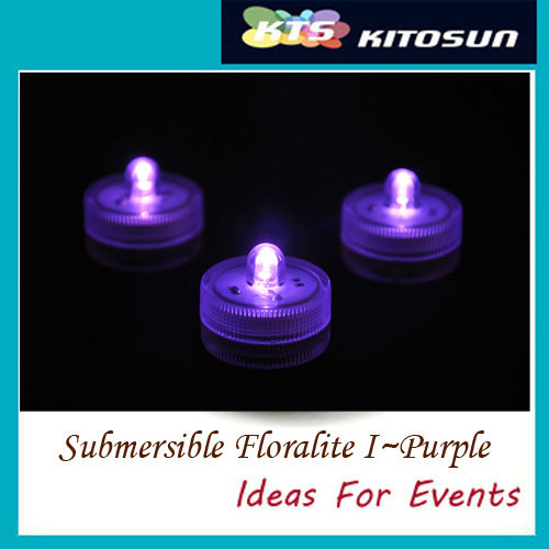 Submersible Floralyte LED Candle Tea Light 12colors for Wedding Party Events Holidays Decoration ...