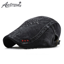 [AETRENDS] 2018 New Men's Pure Cotton Berets Outdoor Fashion