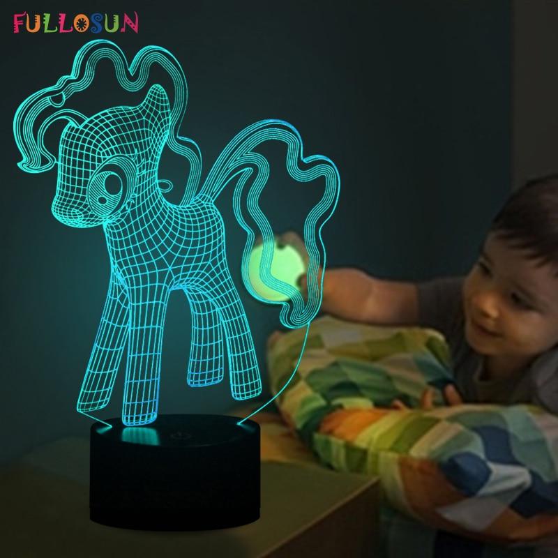 Mielenkiintoinen 3D Lovely Dog Night -valaisin LED-valaistus monivärisillä pöytälampuilla lapsina