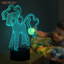 Interesting 3D Lovely Dog Night Lamp LED Lighting with Multi-colors Desk Lamp as Children Gifts