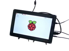 RPi Display 10.1 inch Capacitive Touch Screen LCD for Raspberry Pi 2 3 Model B B+ & BeagleBone Black Multi Systems Video Inputs