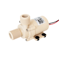 DC 12V 24V 0 110 Degrees Celsius Brushless Circulation Pump Solar Gas Electric Hot Water Heater