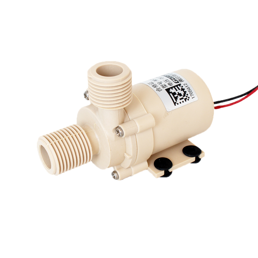 DC 12V/24V,0-110 Degrees Celsius,Brushless circulation pump,Solar/gas/electric hot water heater,pressurized booster Submersible 1pc new solar dc 24v hot water circulation pump brushless motor water pump 5m