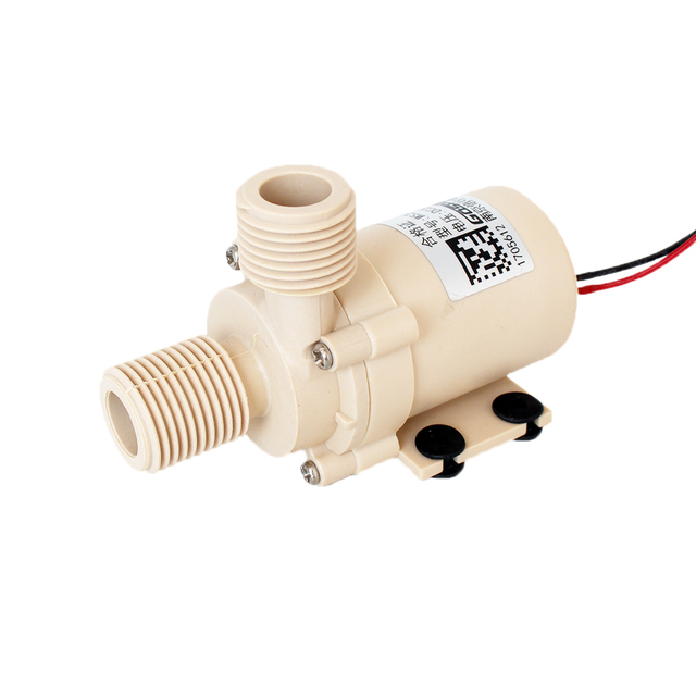 DC 12V/24V,0-110 Degrees Celsius,Brushless circulation pump,Solar/gas/electric hot water heater,pressurized booster Submersible