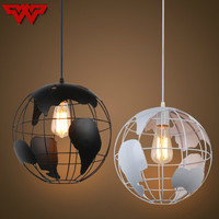 2018 New Nordic minimalist globe chandelier modern creative restaurant bar table iron chandelier cafe tea shop lights