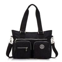 New Ladies Crossbody Bags For Women Waterproof Handbags Nylon Large Shoulder Women Messenger Bag Kiple Style