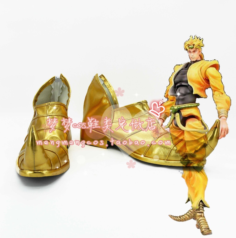 JoJo s Bizarre Adventure StardustCrusaders DIO cosplay Shoes Boots Custom Made 2582