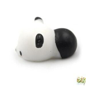 1 шт. милые кавайные антистресс сжимаемые панды Mochi сжимаемые эластичные брелоки для телефона