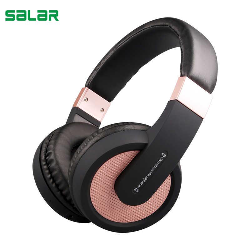 Salar SL bezprzewodowy/a słuchawki do gier zestaw słuchawkowy bluetooth sportowe słuchawki douszne stereo z mikrofonem do iphone komputerów PC