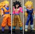 Frete grátis Dragon Ball Z de Dragon Ball ação e Toy figuras Super Saiyan Vegeta PVC japão Anime modelo coleção