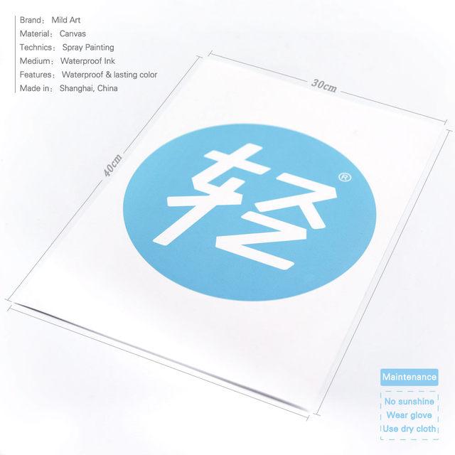 Tienda Online Moderno negro Kawaii Star cotizaciones póster ...