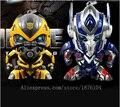 2015 transformação 4 Anime figura de ação Optimus Prime Bumblebee frete grátis