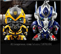 2015 transformación 4 figura de acción del Anime Optimus Prime Bumblebee envío gratis