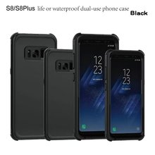 UXIA Case for Samsung Galaxy S8 Waterproof Shockproof Cover Plus 360 Degrees Full Protection