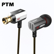 Haute qualité D'origine KZ ED9 Dans l'oreille En Métal Écouteurs Stéréo Super Bass Casque pour téléphone mobile MP3/4
