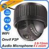 HD 1080P 4X Optical Zoom IP Camera WiFi Wireless CCTV Dome Indoor Security PTZ 2 8