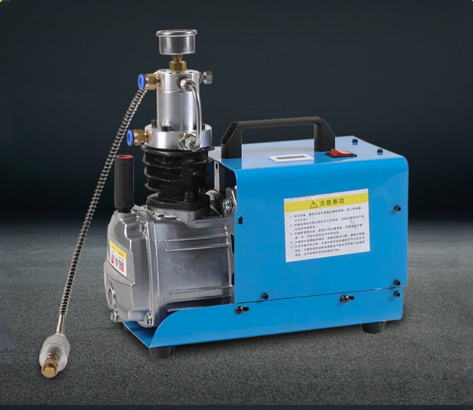 220V 300BAR 30MPA 4500PSI High Pressure Air Pump water cooling Electric Air Compressor for Airgun Scuba Rifle PCP Inflator
