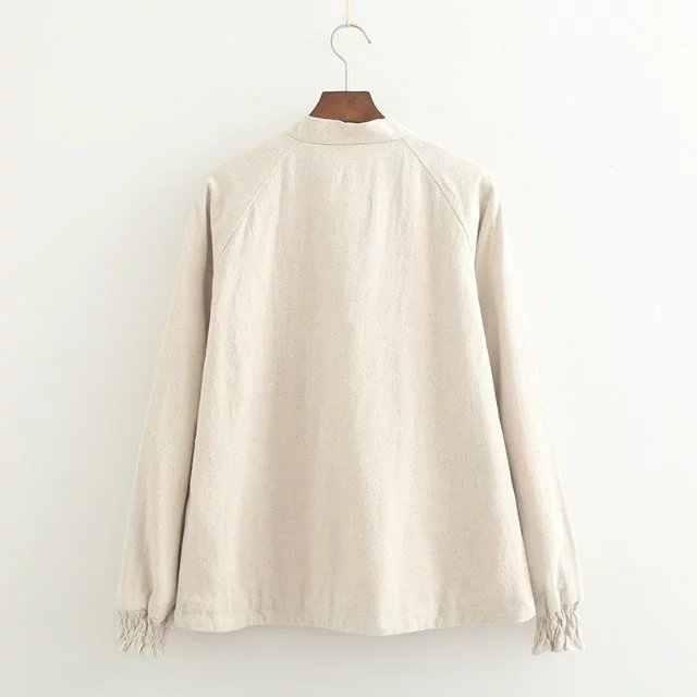8c114c69d0e ... Корейский для женщин бархат толще рубашка короткая блузка женская одежда  с длинным рукавом Лук письмо вышивка