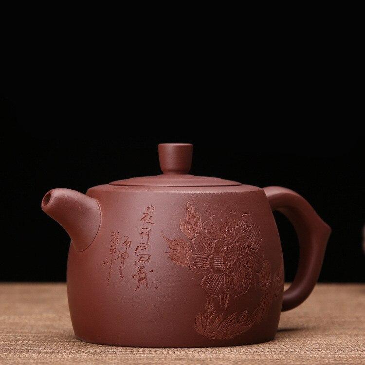 300 мл китайский Фиолетовый глины Чайники Zisha Чай набор Китая Керамика глины Чай горшок pu'er Чай горшок набор Исин с подарочная коробка Бесплат...