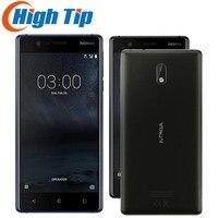 Unlocked Original Nokia 3 LTE 4G 16G ROM 2G RAM Single SIM Card Android 7.0 Quad Core 5 720P 8 MP Refurbished Mobile Phone