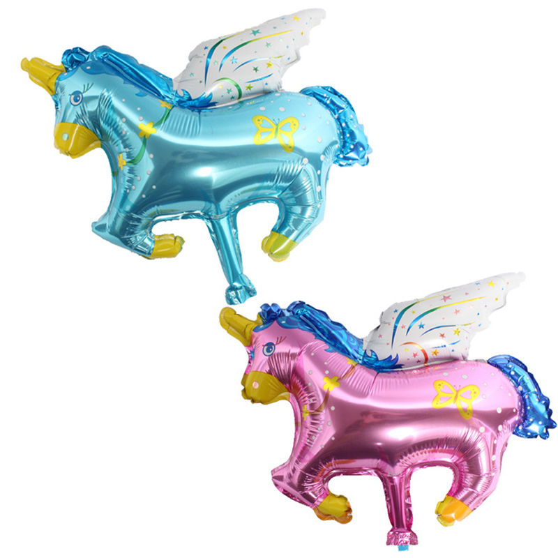 Mini Horse Foil Balloons Inflatable Classic Toys Air