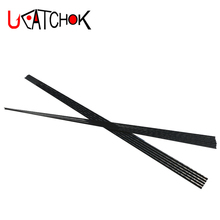 1pcs/pack 1.98m lure rod blank-MH,M,ML,L,UL fishing power high carbon fiber 2 sections DIY refit repair accessory component