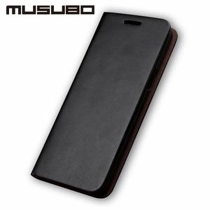 Image 4 - Musubo Bao Da Cao Cấp Dành Cho Samsung Galaxy S20 S10 S9 Plus S8 Plus S7 Edge Note 10 9 Vỏ lật Thẻ Ví Solt Capa