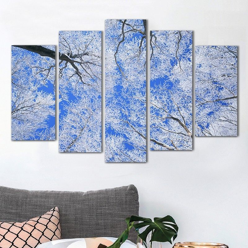 Winter Wall Art compare prices on winter landscape painting- online shopping/buy
