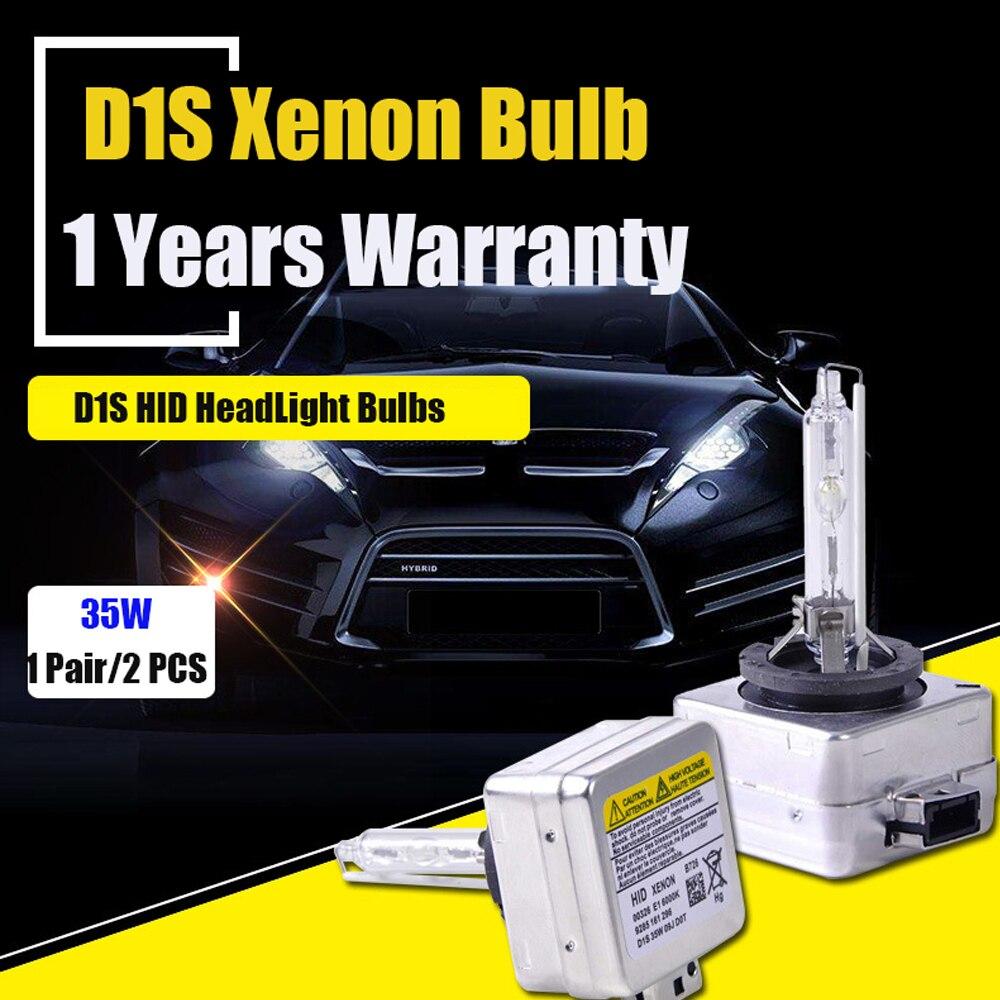 2X D1S bulb 6000k 4300k 8000k D1SHID Xenon Lamp Car Headlight replacement bulbs 35W lamp 2 pieces xenon bulbs car lamp d4r 4300k 42406wx 6000k 12v 35w