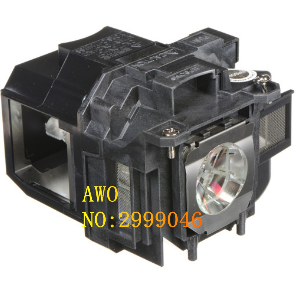AWO Original Replacement FIT For Elplp88 PowerLite Home Cinema 2040 1040 2045 740HD 640, VS240 VS345,VS340 Projector Lamp