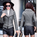 Women Leather Jacket Female Leather Coat For Women Girl Ladies Black Short 100% Veste Cuir Femme Chaquetas De Cuero Mujer